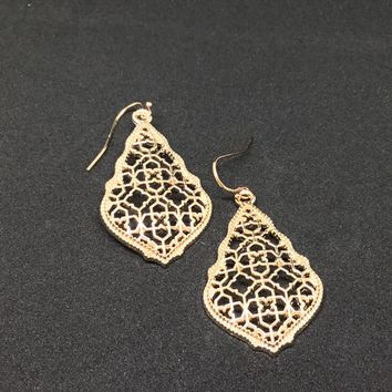 Hollow Cut out Earrings