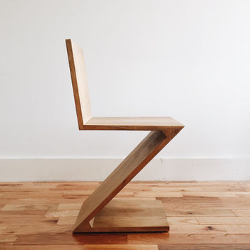 Gerrit Rietveld Zig-Zag Chair Original