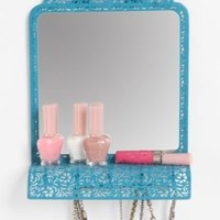 Mirror Shelf Jewelry Holder