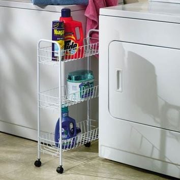 Slimline 3-Shelf Utility Cart