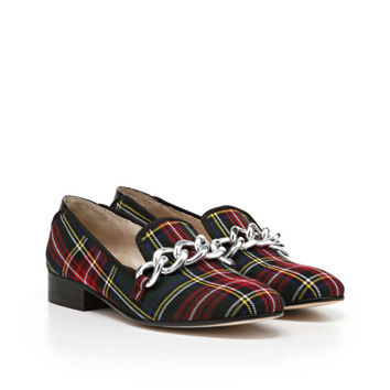 Women's Sam Edelman Kollins Red/Black Plaid SamEdelman.com