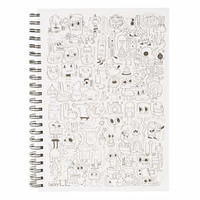 SKETCH BOOK BY JON BURGERMAN