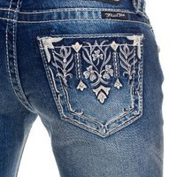 Miss Me crystal paradise jeans - up to size 34
