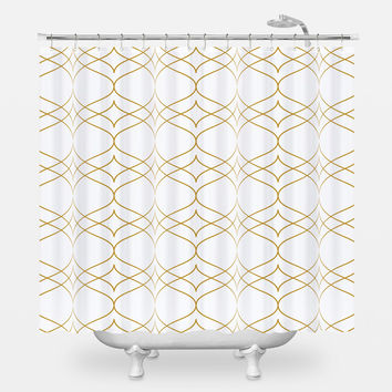 Jay Gatsby Shower Curtain