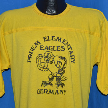 80s Pruem Elementary Eagles Germany t-shirt Medium