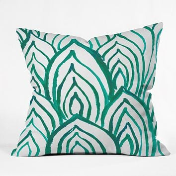 Rebecca Allen Emerald Coast Outdoor Throw Pillow