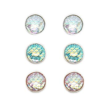 Holographic Gem Stud Set