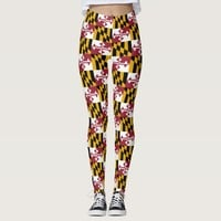 Leggings with flag of Maryland State, USA