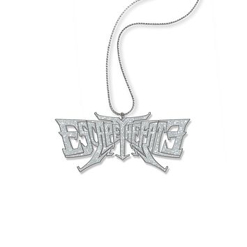 Escape The Fate Glitter Logo - Womens Na Necklace