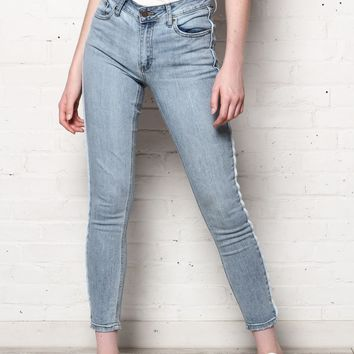Just Black Line Up Sideseam Skinny Jeans