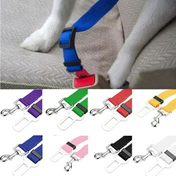 New Qualified Pet Cat Dog Safety Vehicle Car Seatbelt