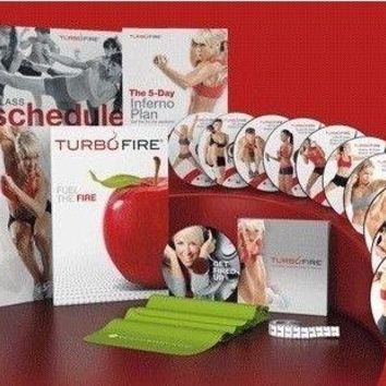 TurboFire Complete Deluxe Workout DVD Program: 90-Day Intense Cardio Conditioning Program