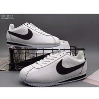 Nike winter CORTEZ Forrest Couples casual fashion sports running shoes F-A36H-MY White + black hook