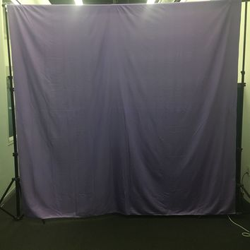 Custom Printed Chroma Purple Lightweight Platinum Cloth 8x8 - LCPCCHROMA - LAST CALL