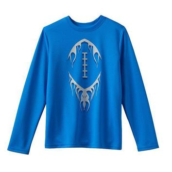 CREY7GX Tek Gear Textured Football Tee - Boys 8-20 Size