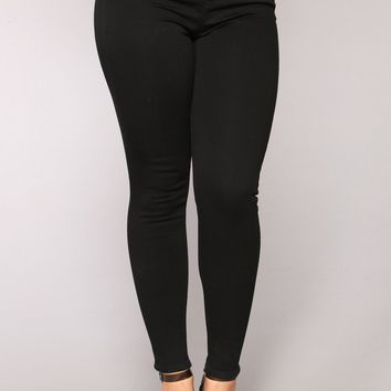 Savannah High Rise Jeans - Black