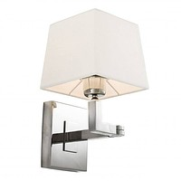 SILVER SWING ARM WALL SCONCE | EICHHOLTZ CAMBELL