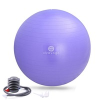 Xiyoga 65cm PVC Yoga Ball with Pump