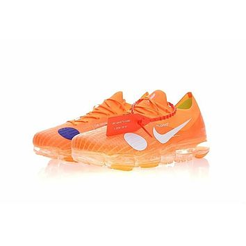 Nike Air VaporMax X OFF-White Citrus White Running Shoes