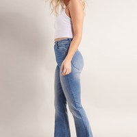 Extreme High Rise Flare Jean