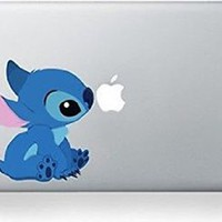 Stitch Cartoon Character Decal Sticker for Macbook Laptop Air Pro Retina 13 14 15 Inch Cool