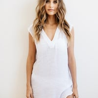 Salt Swimwear 2016 || Alexa tunic in white