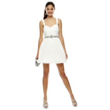 My Michelle® Sleeveless Short Party Dress