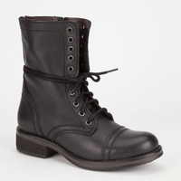 Steve Madden Troopa 2.0 Womens Boots Black  In Sizes