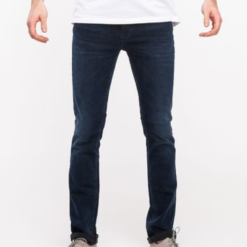 Nudie Jeans Thin Finn Organic Blue Strike