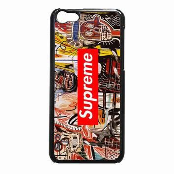 Jean Michel Basquiat art supreme 840d9226-aab3-4715-bc29-d1b8708def95 FOR iPhone 5C CA
