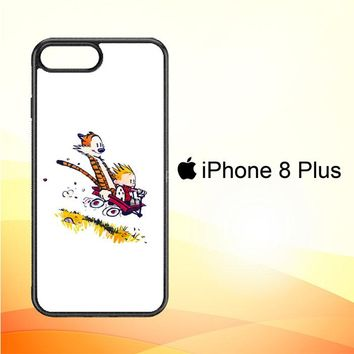 Calvin And Hobbes X4727 iPhone 8 Plus Case