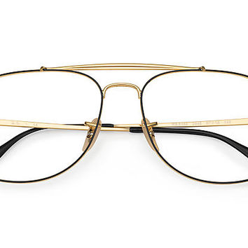 Ray-Ban RB6389 Black,Gold Gold | Ray-Ban® USA