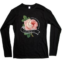 Ecofeminist -- Women's Long-Sleeve
