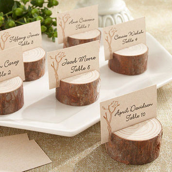 25 Rustic Wedding Tree Slices Decor SOURWOOD Wood Disc Tree Log Round