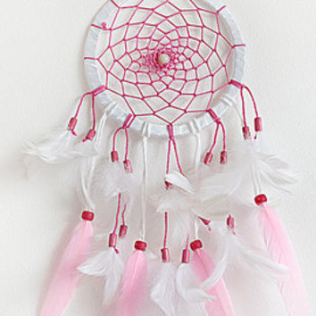 Wedding Dreamcatcher, Doily Dreamcatcher, White Blue Dreamcatcher, Crochet Dreamcatcher, Handmade, Boho,  Wall Hanging, Shells