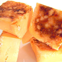 Julie's Fudge - CREME BRULEE - 6 Pieces (1/2lb)