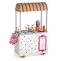 American Girl® Accessories: Campus Snack Cart