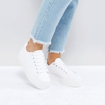 ASOS DAY LIGHT Wide Fit Lace Up Sneakers at asos.com