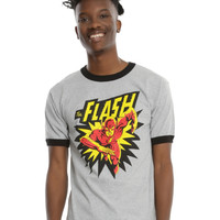 DC Comics The Flash Ringer T-Shirt