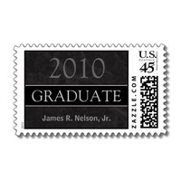 Class of 2010 Graduation Postage Stamp from Zazzle.com