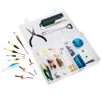 Gone Fishing Fishing Tackle Box and Fishing Lure Set - Walmart.com