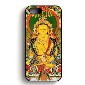 Buddha Painting iPhone 5, iPhone 5s and iPhone 5S Gold case