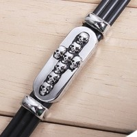 Skull Cross Stainless Steel Bracelet