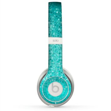 The Turquoise Mosaic Tiled Skin for the Beats by Dre Solo 2 Headphones