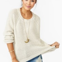 Oxford Knit - Cream