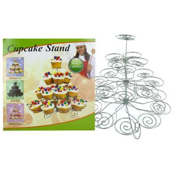 Decorative Metal Cupcake Stand ( Case of 2 )