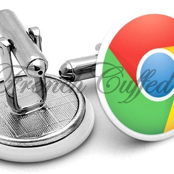 Google Chrome Browser Cufflinks