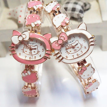 Kitty Wrist Watches for Kids