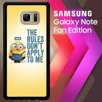 A Cute Collection Of Minions X4269 Samsung Galaxy Note FE Fan Edition Case