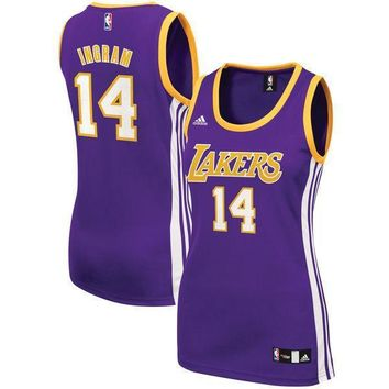 Men's Los Angeles Lakers Brandon Ingram Nike Yellow Swingman Jersey - Icon Edition